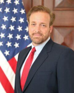 Chargé d'Affaires a.i. Stewart Tuttle official photo