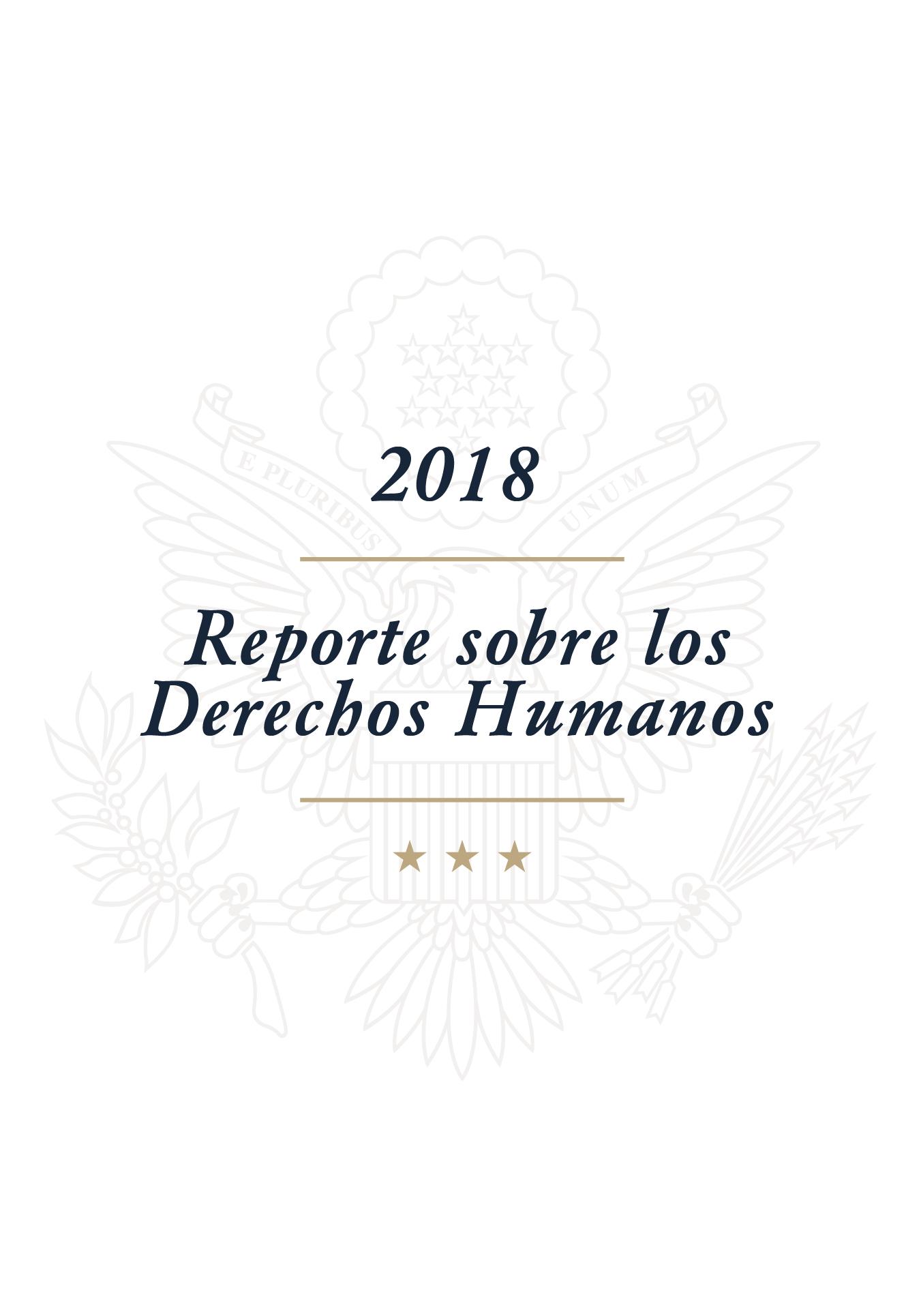 Reporte sobre los Derechos Humanos 2018
