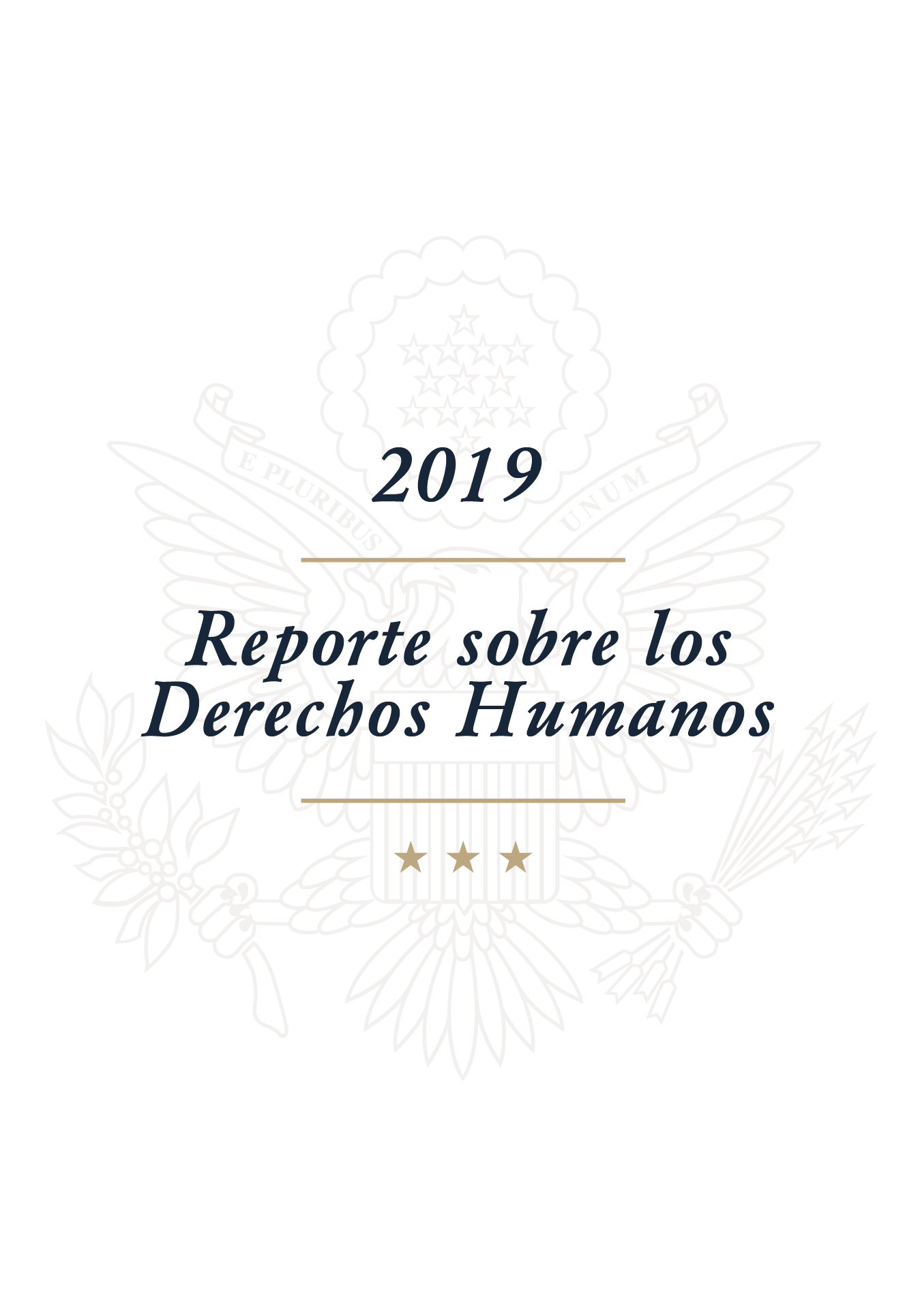 Reportes sobre los Derechos Humanos 2019