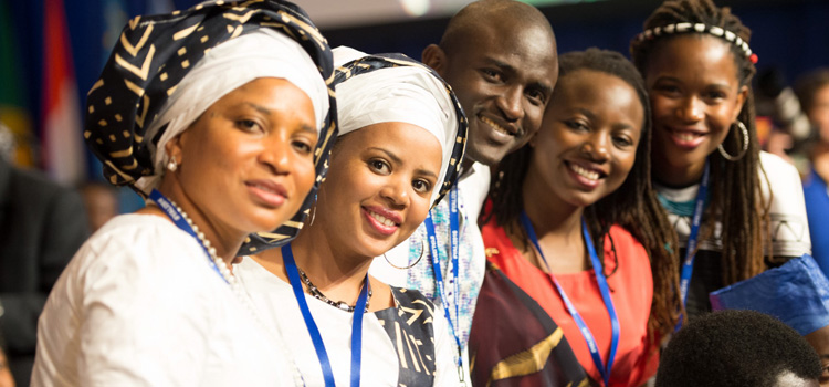 Participants in the Young African Leaders Initiative