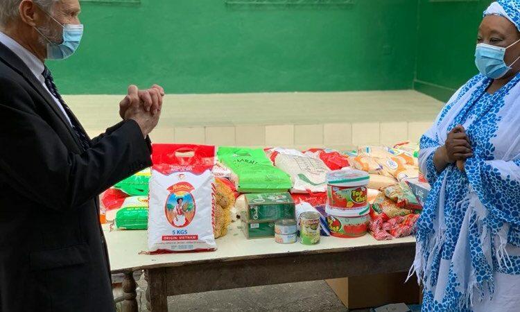 U.S. Embassy Abidjan Donates Food to Support Widows During Ramadan