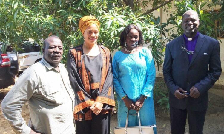 Les Chefs religieux tchadiens accueillent la Chargée d'affaires Davis Ba