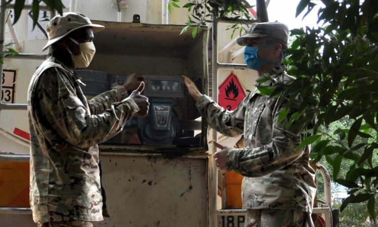 U.S. Embassy provides fuel assistance to Chadian Military