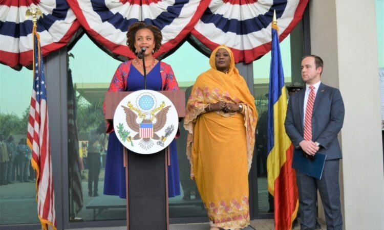Discours de la Chargée d'affaires lors de la Célébration de la Fête Nationale Americaine
