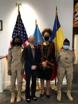L'armée de l'air tchadienne envoie deux candidates pilotes aux États-Unis pour une formation initiale