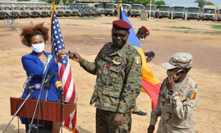 Les États-Unis fournissent 8,5 millions de dollars de matériel au Groupe spécial antiterroriste du Tchad en guise de soutien au G5 Sahel