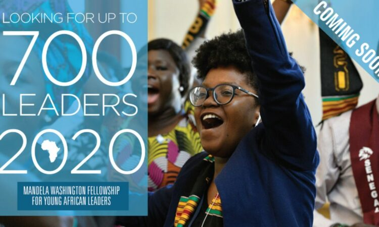 Are you interested in being a part of the next generation of African leaders?