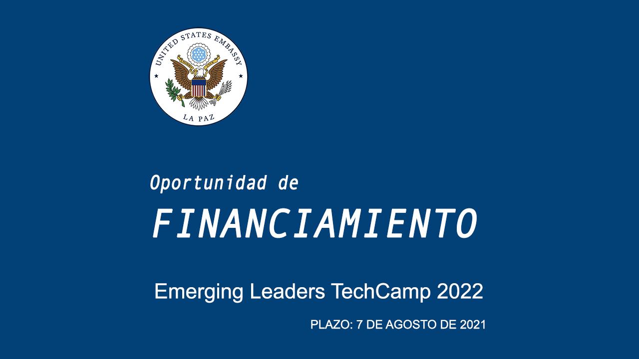 Oportunidad de Financiamiento - TechCamp 2022 Líderes Emergentes