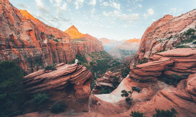 Scenic view of Utah