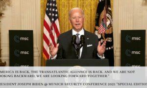 US-Präsident Biden spricht bei der Special Edition der Münchner Sicherheitskonferenz 2021 (Foto: Weißes Haus)