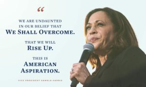 Kamala Harris, Vizepräsidentin der Vereinigten Staaten. (Foto: Vice President Kamala Harris)