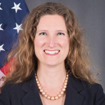 Consul General Fiona Evans