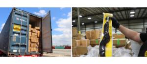 US-Zoll- und Grenzschutzbeamte stellten im Juli beinahe 13 Tonnen Haarprodukte sicher. Es besteht der Verdacht, dass sie mithilfe von Zwangsarbeit in Xinjiang (China) hergestellt wurden. (Foto: US-Zoll- und Grenzschutzbehörde)