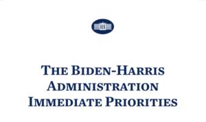 Biden Harris administration banner