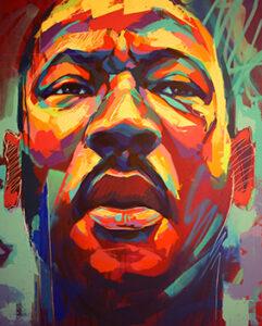 Mural of Martin Luthor King Jr.