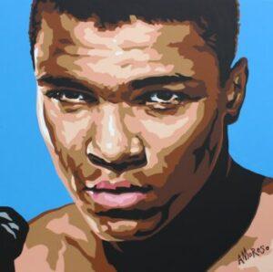 mural of Muhammad Ali