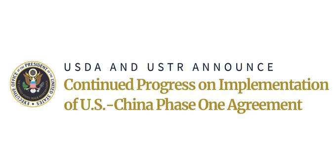USDA and USTR Announcement Text