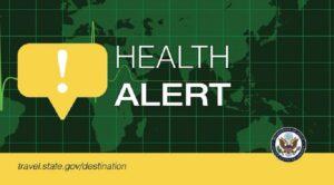 Health Alert graphic