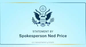 Spokesperson Ned Price Logo