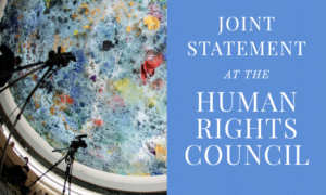 Joint Statement at the Human Rights Council