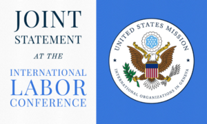Joint Statement at the International Labor Conference