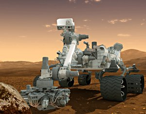 A model of the Mars rover