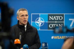 NATO Leaders Meeting, London - Doorstep statement by the NATO Secretary General