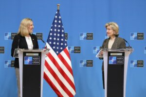 Press briefing with Under Secretary Thompson and Ambassador Hutchison
