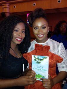 Glory and Chimamanda Ngozi Adichie