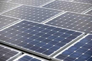 Solar photovoltaic panels can be placed in large or small arrays. Solar photovoltaic film and paint are even more versatile.