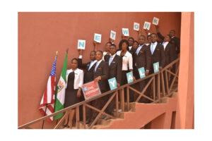 YALI Network members in Nigeria show their stuff.