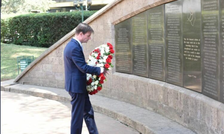 Under Secretary for Political Affairs David Hale's Remarks at August 7th Memorial Park in Nairobi Kenya