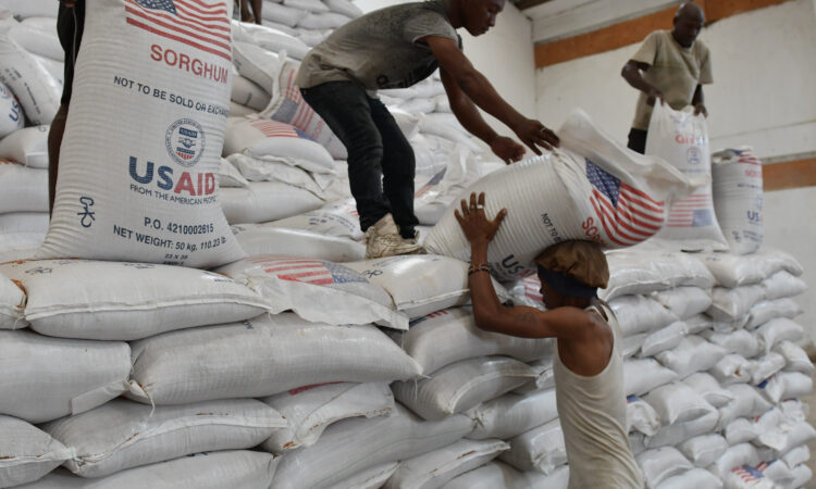 United States Helping 390,000 people in Arid Counties