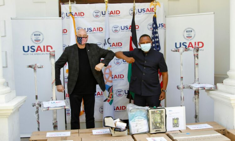 United States Delivers 14 Ventilators to the Coast General Teaching and Referral Hospital in Mombasa to Support Kenya's Response to COVID-19