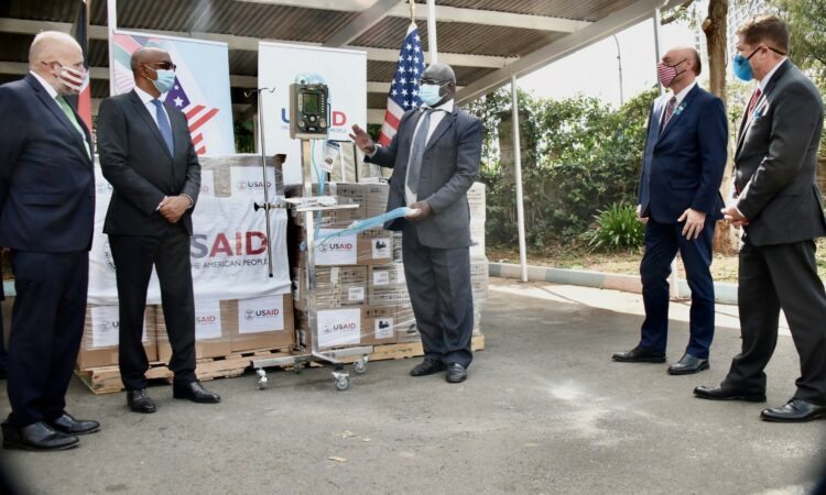 USAID Ventilator Donation October 2020