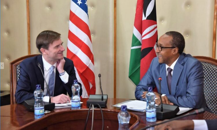 Under Secretary for Political Affairs David Hale's Meeting with Kenyan Principal Secretary Macharia Kamau