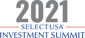 """Graphic reads: """"2021 SelectUSA Investment Summit."""""""