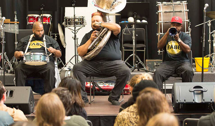 New Orleans music down the streets of Wellington – Free Agents Brass Band