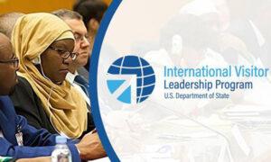 Logo for the International Visitor Leadership Program