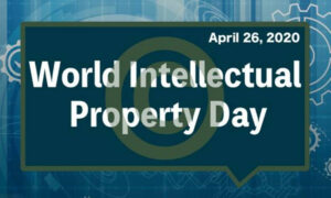 text displaying world intellectual property day