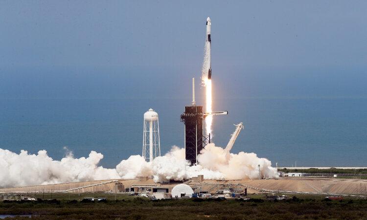 a space shuttle launch