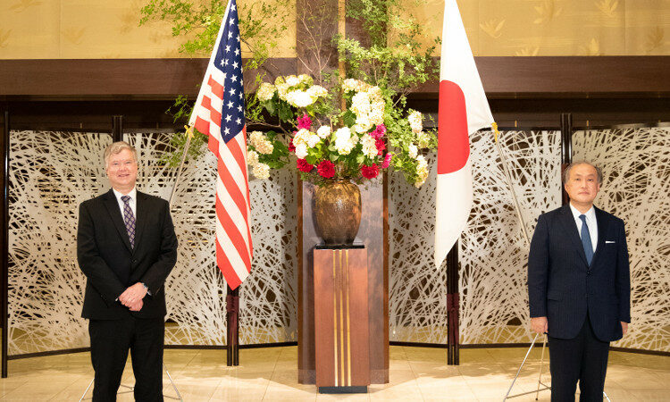 Deputy Secretary of State Biegun Visits Tokyo