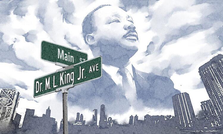 各国で見られる「キング牧師通り」