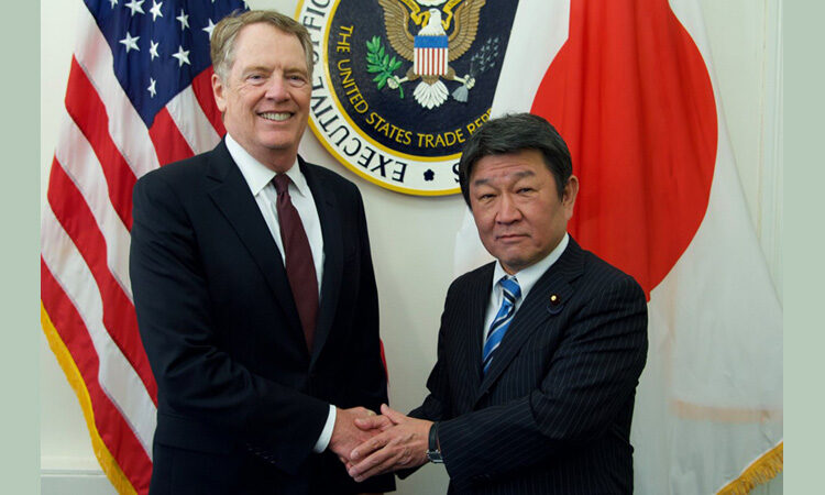 U.S. and Japan Discuss Trade Agreement in Washington