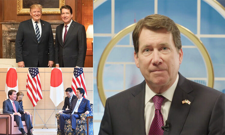 Ambassador Hagerty Offers Farewell Message of Confidence and Hope