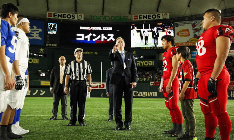 Heads or Tails? CDA Young Attends Japan X-League Championship