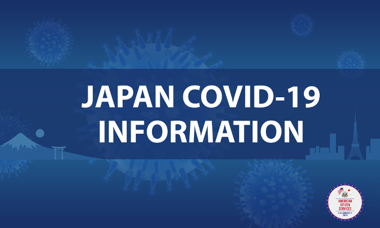 Japan Covid 19 Information text