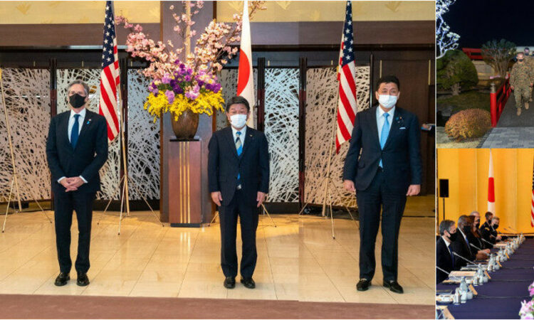 Secretaries Blinken and Austin Visit Japan for 2+2 Summit