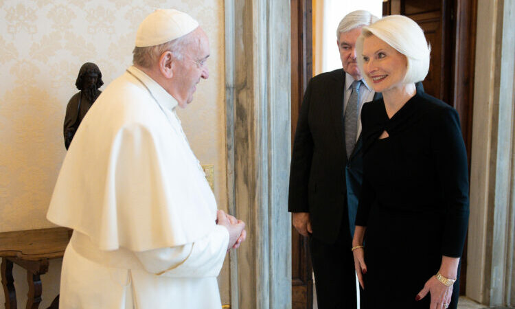 Ambassador Gingrich Farewell to Pope Francis