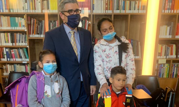 Partnership with Community of Sant'Egidio to Assist Roma Children